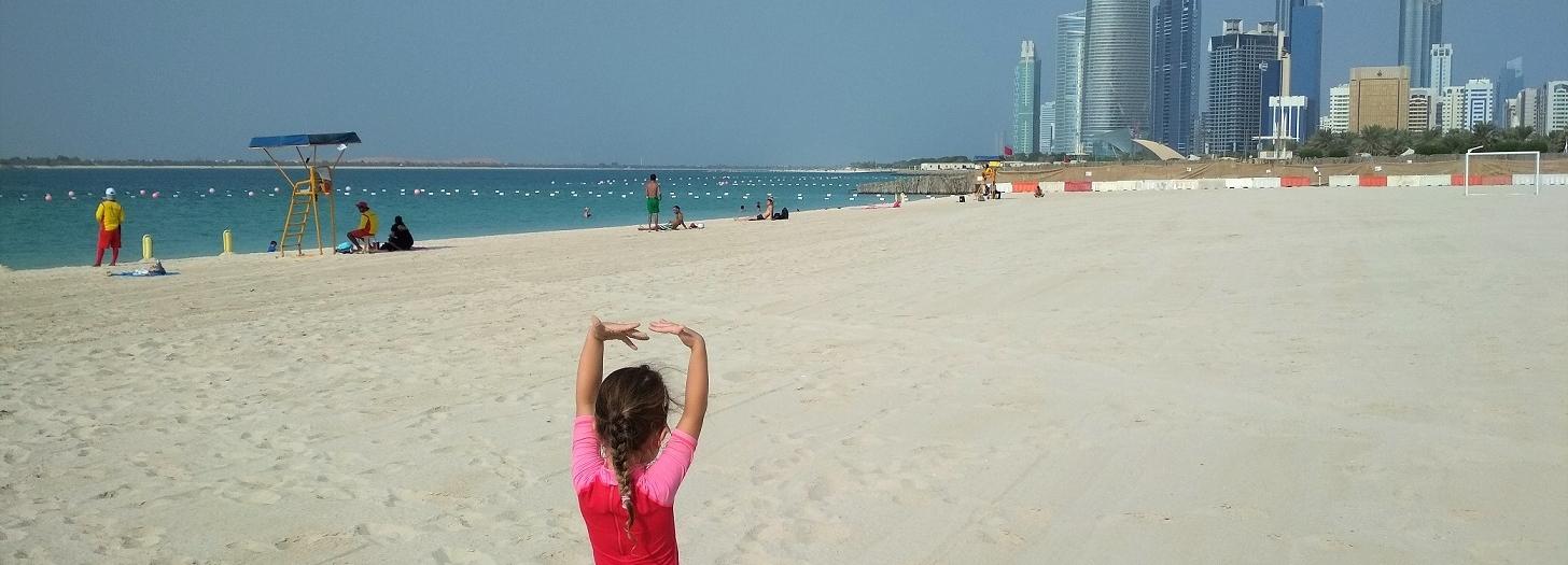 Ciepło, cieplej, Abu Dhabi!