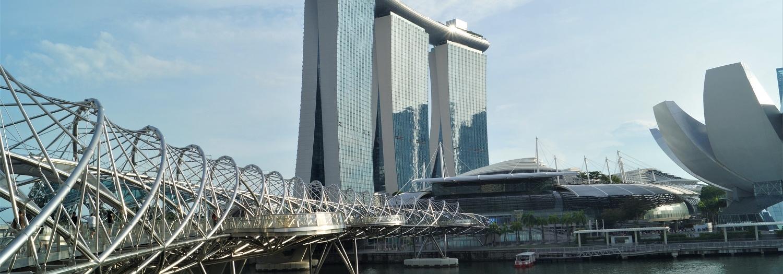 Pocztówkowy Singapur - jak zwiedzać? Spacerując!