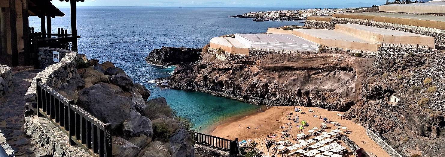 Playa de Abama, Teneryfa - przyjemne odizolowanie